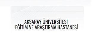 Aksaray Üniversitesi Eğitim ve Araştırma Hastanesi