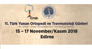 11.Türk Yunan Ortopedi ve Travmatoloji Günleri