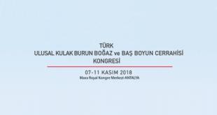40.Türk Ulusal Kulak Burun Boğaz ve Baş Boyun Cerrahisi Kongresi
