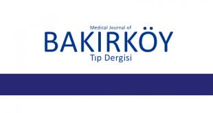 Bakırköy Tıp Dergisi