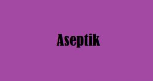 Aseptik