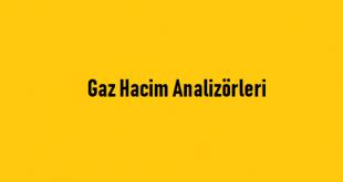 Gaz Hacim Analizörleri