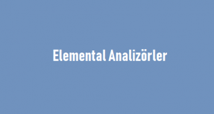 Elemental Analizörler