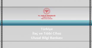 Türkiye İlaç ve Tıbbi Cihaz Ulusal Bilgi Bankası