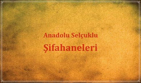 Anadolu Selçuklu Şifahaneleri