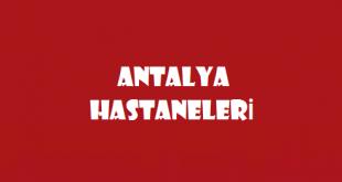 Antalya Hastaneleri