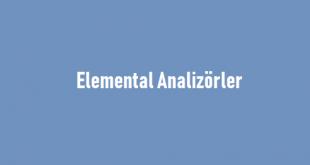 Elemental Analizörler
