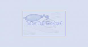 Balon Valf Maskesi