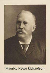 Prof. Maurice Howe Richardson