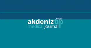 Akdeniz Tıp Dergisi