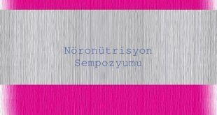 Nöronütrisyon Sempozyumu