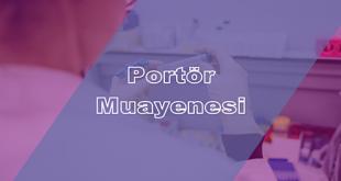 Portör Muayenesi