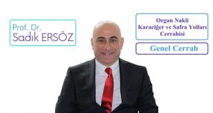 Prof. Dr. Sadık Ersöz