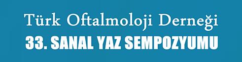 Türk Oftalmoloji Derneği Sanal Yaz Sempozyumu