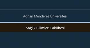 Adnan Menderes Üniversitesi Sağlık Bilimleri Fakültesi